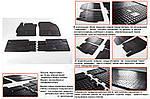 Гумові килимки (4 шт, Stingray Premium) для Toyota Auris (2007-2012)