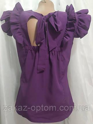 Блуза женская софт (42-48) Украина оптом-75015, фото 2