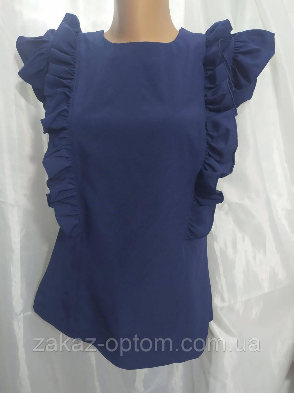 Блуза женская софт (42-48) Украина оптом-75015
