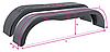 Крыло для легкового прицепа 220*1500*350мм, пластик, Domar (Италия)