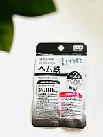 Залізо Японія (40 таблеток х 20 днів), фото 1