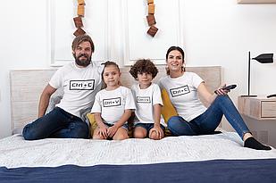 """Футболки. Family Look / Футболки для всей семьи """"Ctrl+C / Crl+V"""""""
