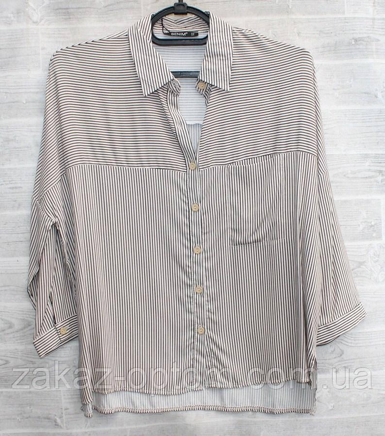 Рубашка женская  (S-2XL) Турция оптом-74958
