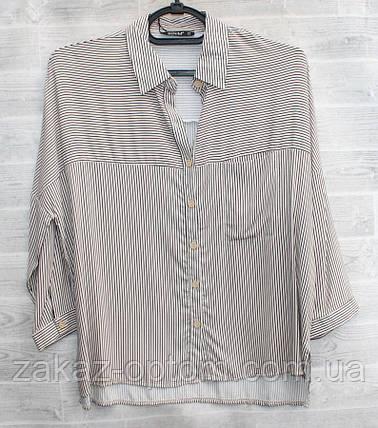 Рубашка женская  (S-2XL) Турция оптом-74958, фото 2