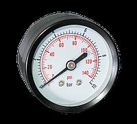 Манометр фронтальный 0-10 бар 50мм Aquatica
