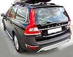 Бокові пороги Rainbow (2 шт., Алюміній) для Volvo XC60 (2009↗)