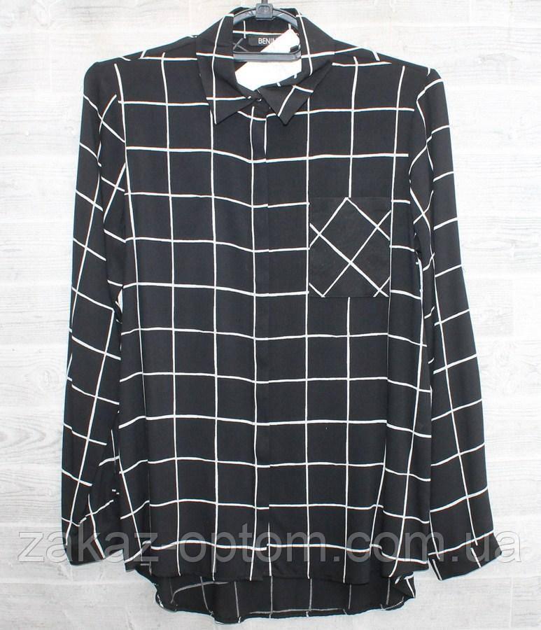 Рубашка женская  (S-2XL) Турция оптом-74961