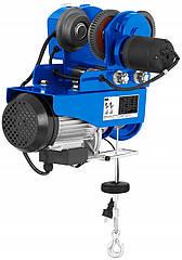 Тельфер електричний з кареткою MSW Motor Technics 250/500 (висота підйому 10м/20м, з візком)