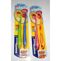 Зубная щетка  для детей  Dontodent Junior 6+  2 шт