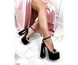 Босоножки на высоком каблуке, фото 5