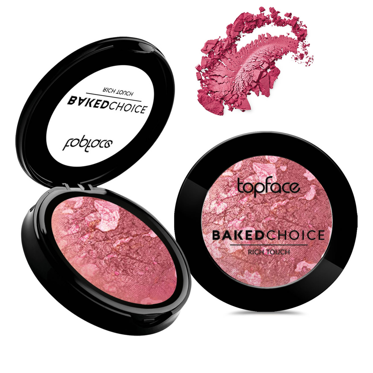 Румяна запеченные Topface Baked Choice Rich Touch Blush PT703 №07 (Pink Petal)
