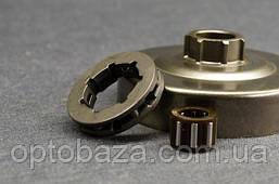 Корзина сцепления с звёздочкой (3/8) и подшипником для бензопил MS 361, 440, фото 3