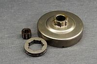 Корзина сцепления с звёздочкой (3/8) и подшипником для бензопил тип  Stihl 361, 440