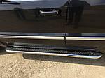 Бічні пороги Maydos V2 (2 шт., нерж) для Mercedes G сlass W463 1990-2018 рр.