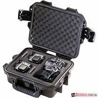 Pelican iM2050GP2 Storm Case with Foam for Two GoPro HERO Cameras - Black (SACC-2-IM2050-BLK)