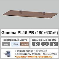 Полка из стекла Сommus PL15РB(6мм)