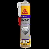 Клей-герметик універсальний MS-полімерний прозорий Sikaflex-112 Crystal 300 мл