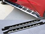 Боковые подножки тип-1A (2 шт) для Honda HR-V 2014↗