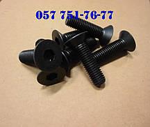 Винт М2 DIN 7991 с потайной головкой и шестигранным шлицем, класс прочности 8.8