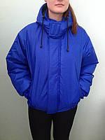 Куртка утепленная, рабочая, женская. мужская, ткань плащевка