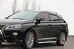 Бічні пороги Fullmond (2 шт, алюміній) для Lexus RX270 / 350/450
