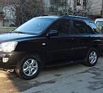Бічні пластикові майданчики o304 (пластик) для Kia Sportage (2004-2010)