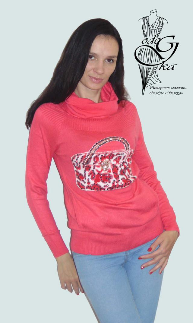 Фото Модных свитеров с карманом кенгуру Аза SvAz01