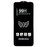 Защитное стекло 99H для Xiaomi Redmi 9 черное (на сяоми редми 9, ксиоми редми 9, ксяоми редми 9)