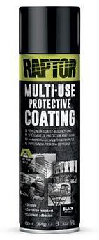 Універсальне захисне покриття (фарба) U-POL RAPTOR™ Multi-Use Protective Coating, 450 мл Аерозоль Чорний