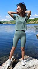 """Жіночий комплект"""" Велосепедки + Mini футболка"""", фото 2"""