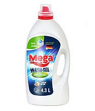 Mega Wash Жидкий гель для стирки Universal 4,3 л