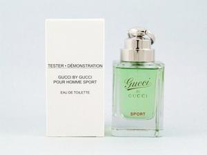 Тестер туалетная вода мужская  Gucci by Gucci Sport Pour Homme (Гучи Бай Гучи Спорт) 90 мл
