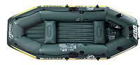 Надувная лодка Fishman II 400 JILONG JL007211N с насосом и веслами