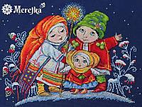 """Набір для вишивання хрестом """"Різдвяна зірка"""" Мережка"""