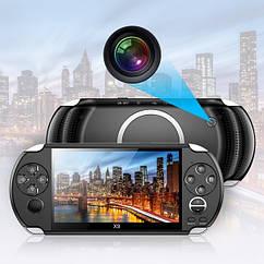 Игровая портативная консоль PSP X9 с экраном 5,1 дюймов и ТВ-выходом