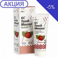 Тус Мусс Strawberry (TOOTH MOUSSE) гель для реминерализации и укрепления зубов GC 1 тюбик 35 мл