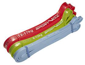 Еспандер-петля, гума для фітнесу та спорту SportVida Power Band 3 шт 0-17 кг SV-HK0190-1 SKL41-227767