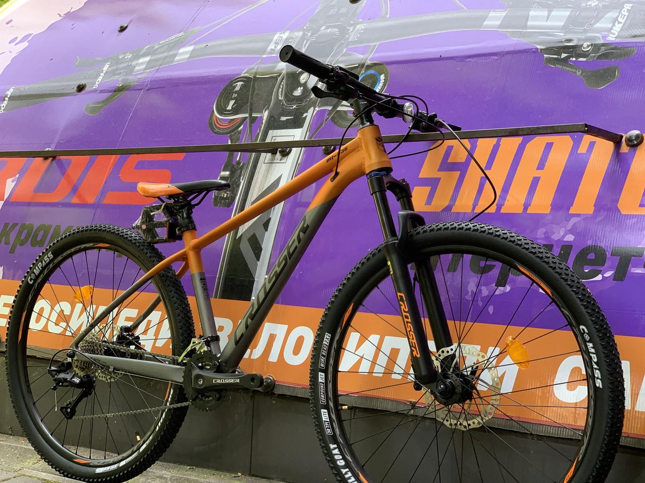 """Горный велосипед 27.5"""" Crosser MT-036 LTWOO на гидравлике"""