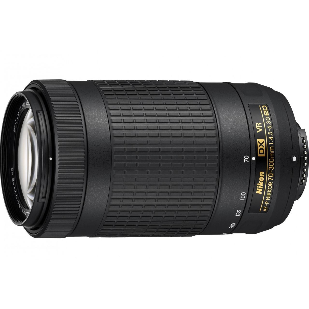 Nikon AF-P DX 70-300mm f/4.5-6.3 G ED VR ( на складі )