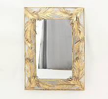 Настенное зеркало из стекла и металла в раме Гранд Презент 81253