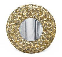 Декоративное зеркало Колесо из стекла и металла Гранд Презент 81384