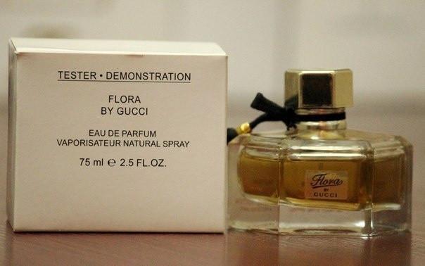 купить тестер парфюмированная вода женская Gucci Flora By Gucci Eau