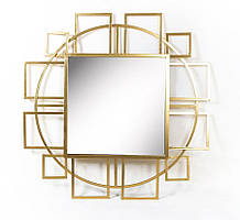 Настенное зеркало Иллюзия из стекла и металла Гранд Презент 25017