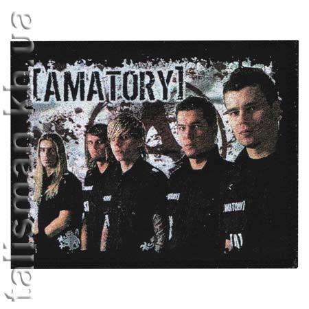 AMATORY (группа) -1 - нашивка катаная