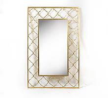 Настенное зеркало с узором из стекла и металла Гранд Презент 25019