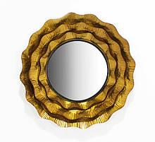 Настенное зеркало из металла d74.5 см Гранд Презент 21016