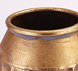 Ваза металева золота h39.5 см Гранд Презент 81311, фото 3