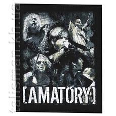 AMATORY (группа) -2 - нашивка катаная