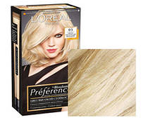 Краска для волос Loreal Preference 03 Светло-светло-русый пепельный