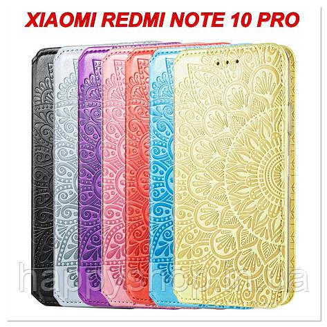 Чохол-книжка GETMAN Mandala для Xiaomi Redmi Note 10 Pro, фото 2